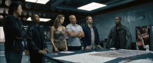 Fast Six Directed by Justin Lin Starring: Vin Diesel, Paul Walker, Dwayne Johnson, MIchelle Rodriguez, Tyrese Gibson, and Luke Evans