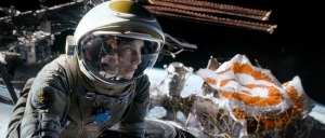 Gravity Directed by Alfonso Cuaron Starring: Sandra Bullock and George Clooney